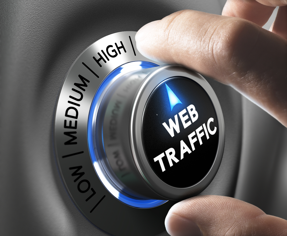 Good content increases web traffic