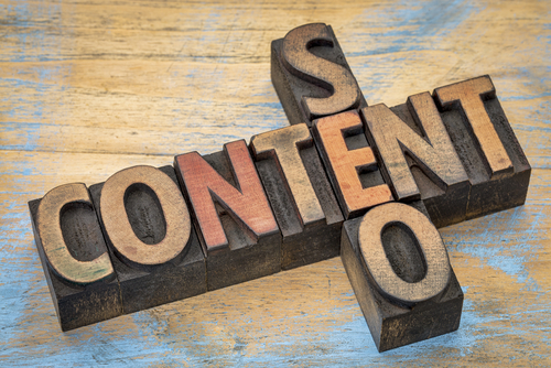 Good content has a positive impact on SEO.