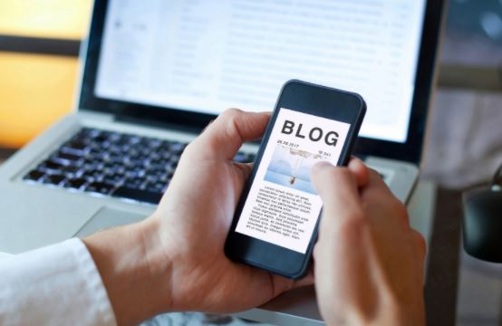 Build an online community with your company blog.
